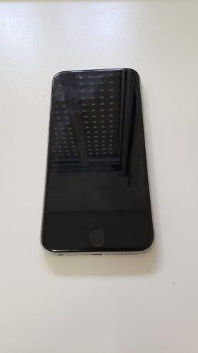 iphone 6s 128gb preto semi novo + lightning dock