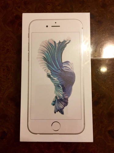 iphone  6s 16 gb silver - apple