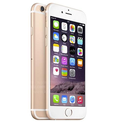 iphone 6s 16gb 4g lte dorados 12mpx touch 3d 1 año garantia