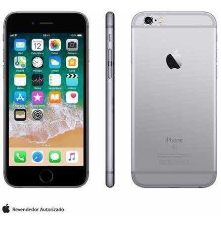 iphone 6s 32gb cinza/preto dois meses de uso.