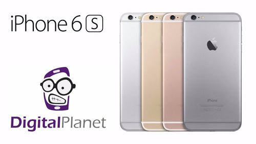 iphone 6s 32gb + lámina vidrio regalo nuevos digital planet
