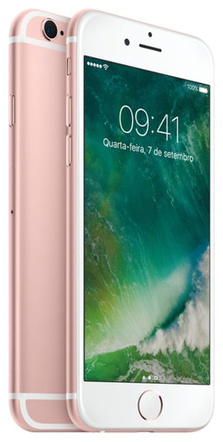 iphone 6s 32gb ouro rosa apple