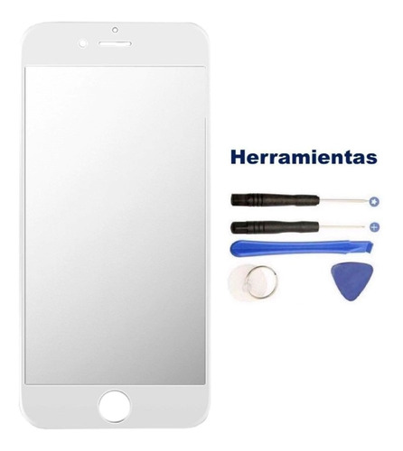 iphone 6s 6 6g cristal touch digitalizador + kit blanco