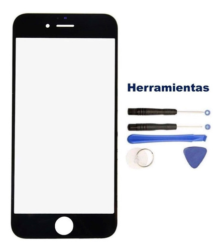 iphone 6s 6 6g cristal touch digitalizador pantalla kit negr