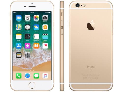 iphone 6s  64 gb original lacrado 1 ano gar. apple +brindes