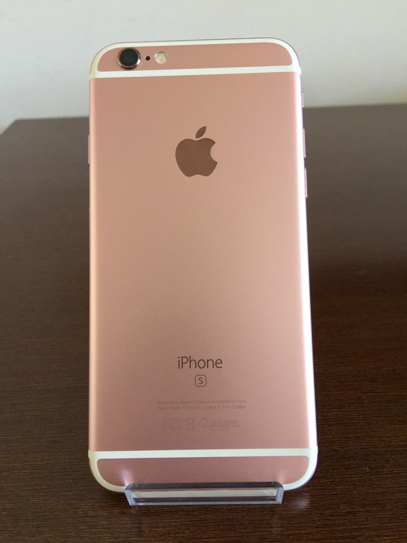 iphone 6s 64gb iphone 6s 64gb rosa dourado preto original de vitrine r 11459