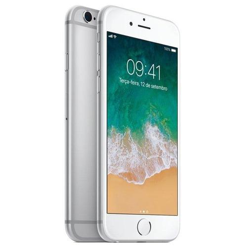 iphone 6s apple prata 32gb, desbloqueado - mn0x2br/a