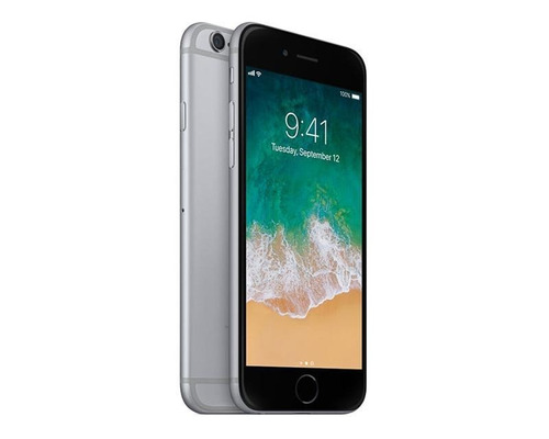 iphone 6s de 16 gb. apple space gray y silver. usado