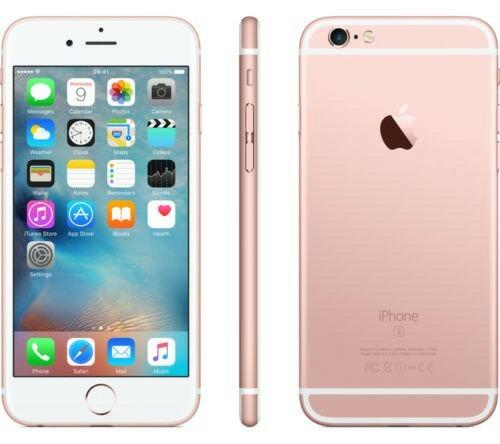 iphone 6s de 16gb nuevo 10/10 negro y rosado
