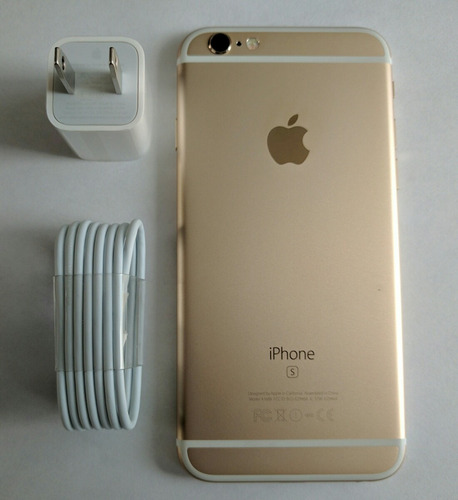 iphone 6s de 64gb color dorado libre todo operador!