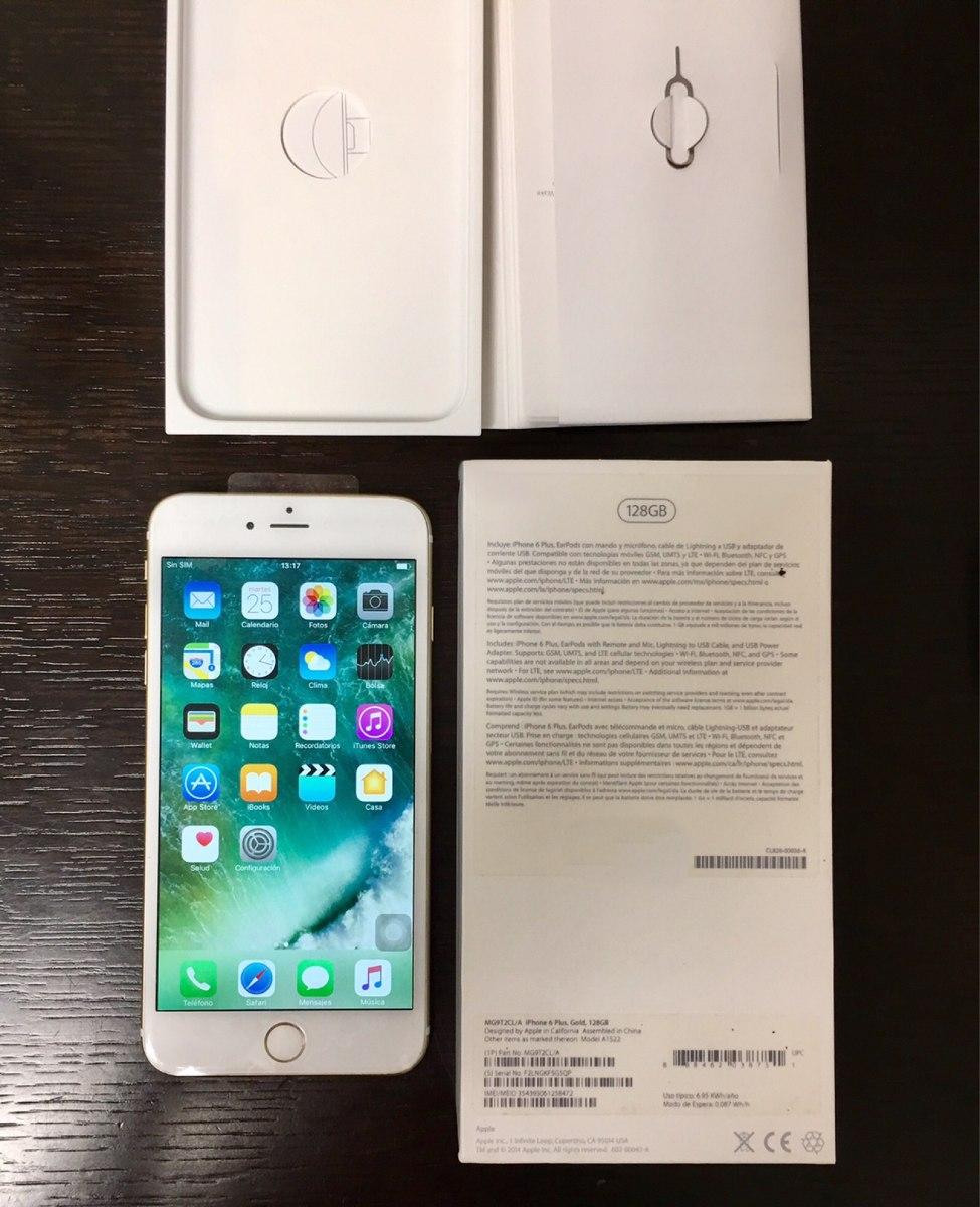 9ec7d369b8b iphone 6s plus 128gb original, con todos sus accesorios. Cargando zoom.