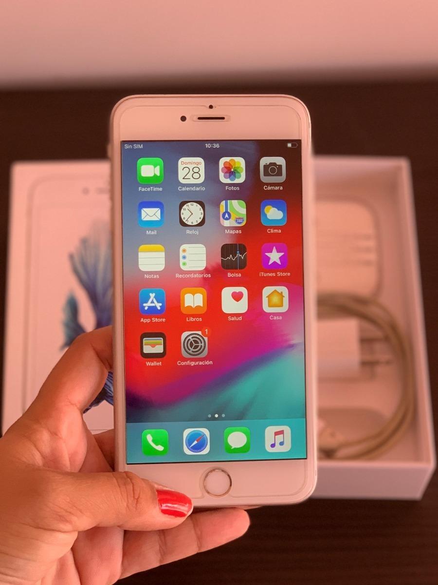 ce2d0855532 iphone 6s plus 128gb silver liberado + accesorios + funda. Cargando zoom.