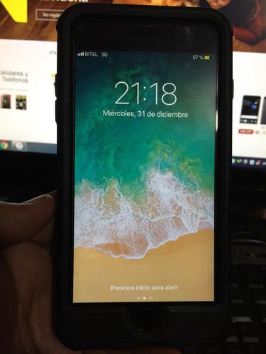 iphone 6s plus 16gb color griss en buen estado liberado