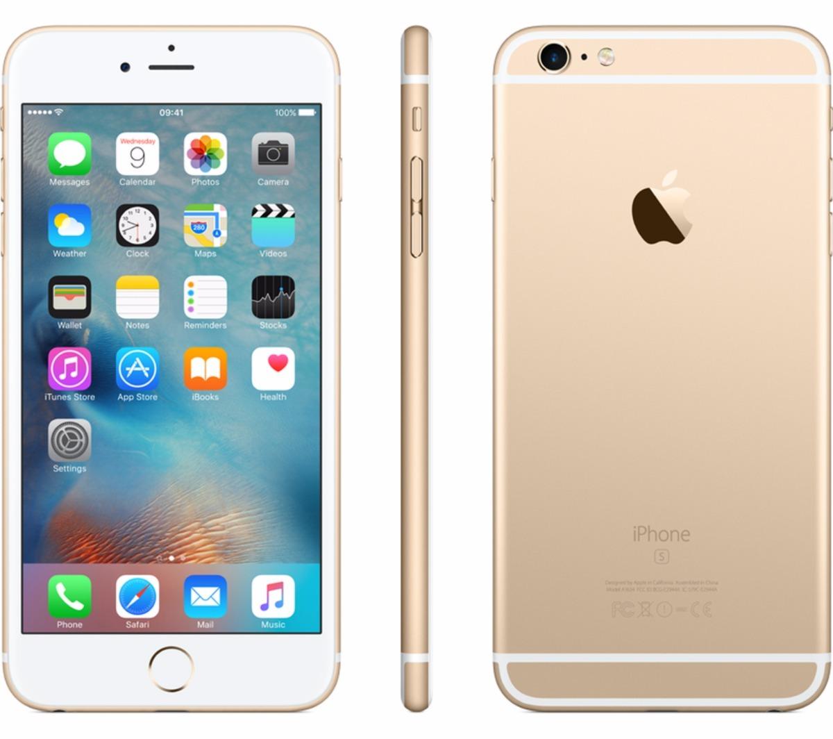 59d8a4f9b iphone 6s plus 16gb dourado wifi 4g tela 5.5 hd com garantia. Carregando  zoom.