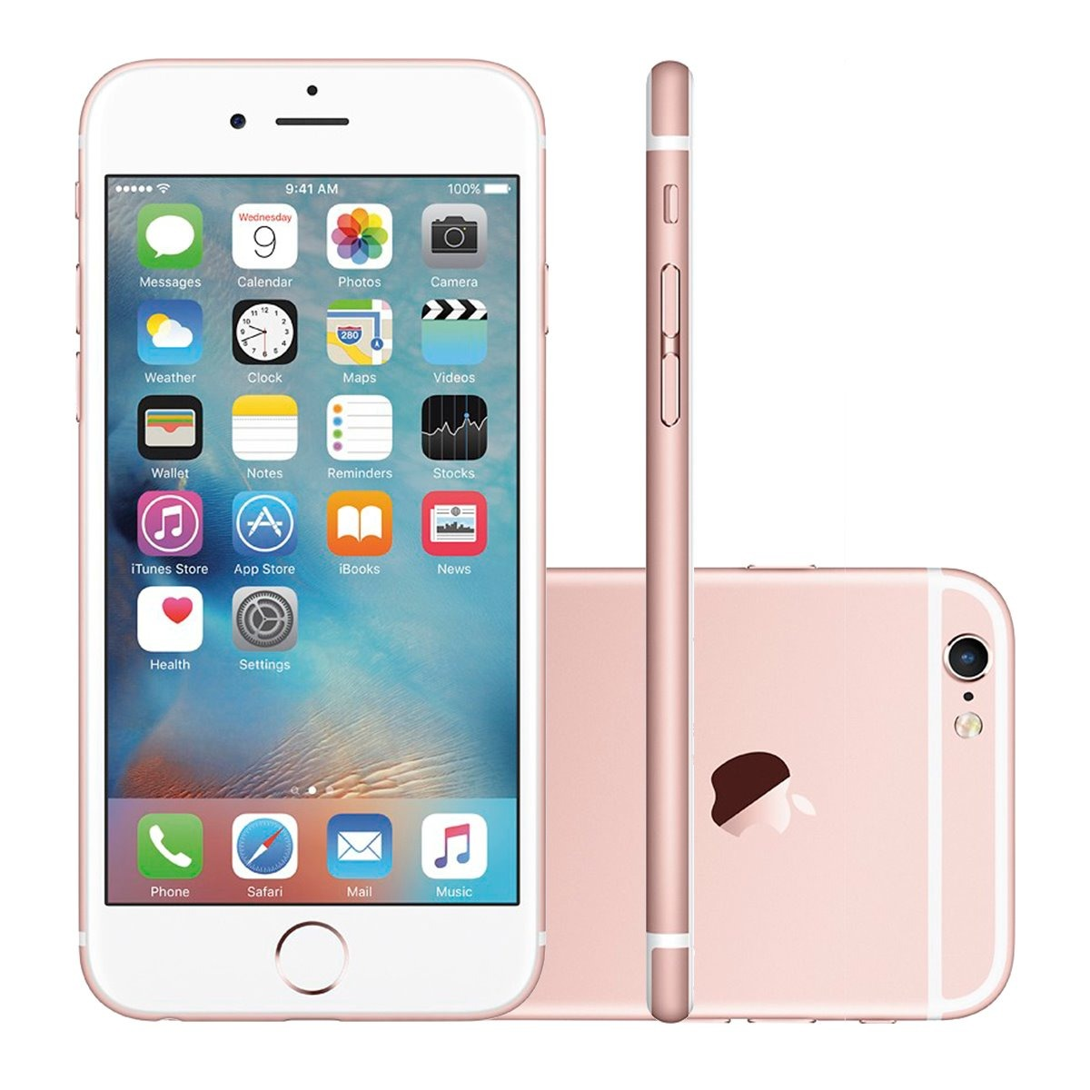 1bb7d21d5 Iphone 6s Plus 32gb Novo Lacrado Original Garantia - R  2.198
