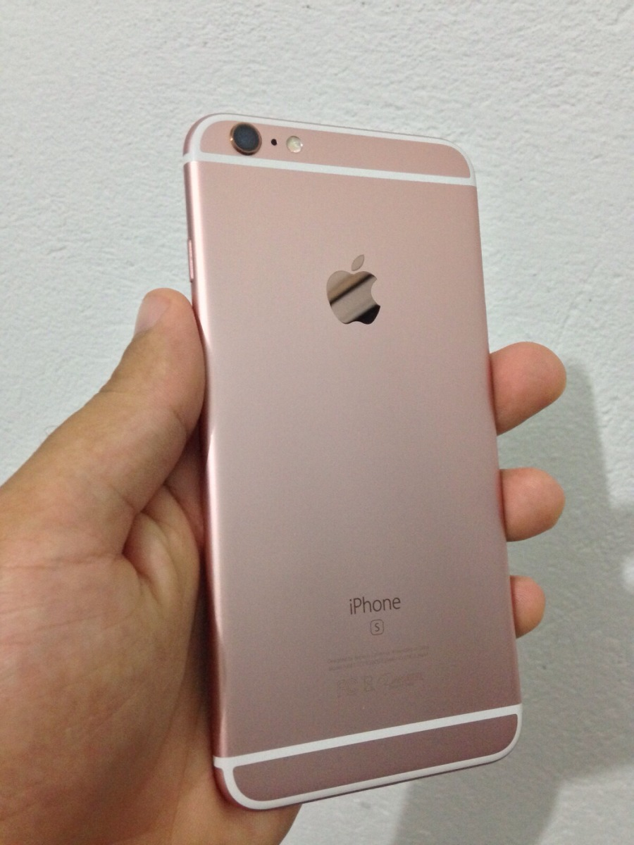 iphone 6s plus 64gb gold rose nota fiscal anatel r em mercado livre. Black Bedroom Furniture Sets. Home Design Ideas