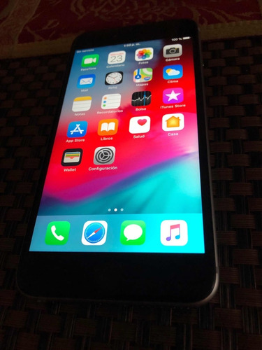 iphone 6s plus 64gb gris oscuro desbloqueado exc. condición