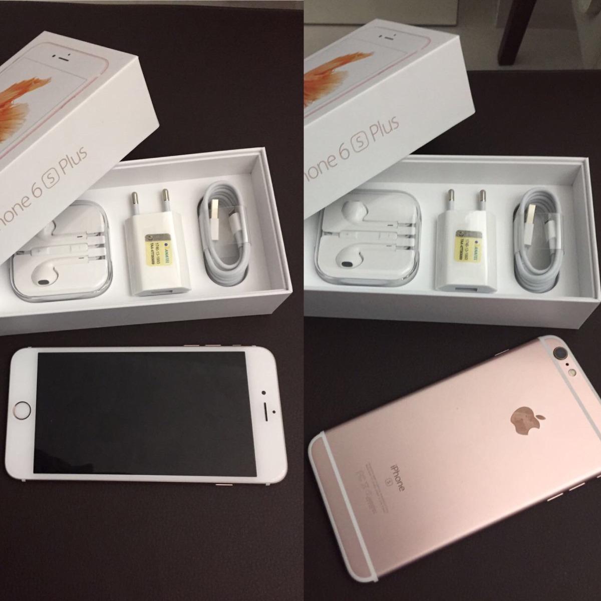 34312de5c iphone 6s plus 64gb novo na caixa nunca usado. Carregando zoom.