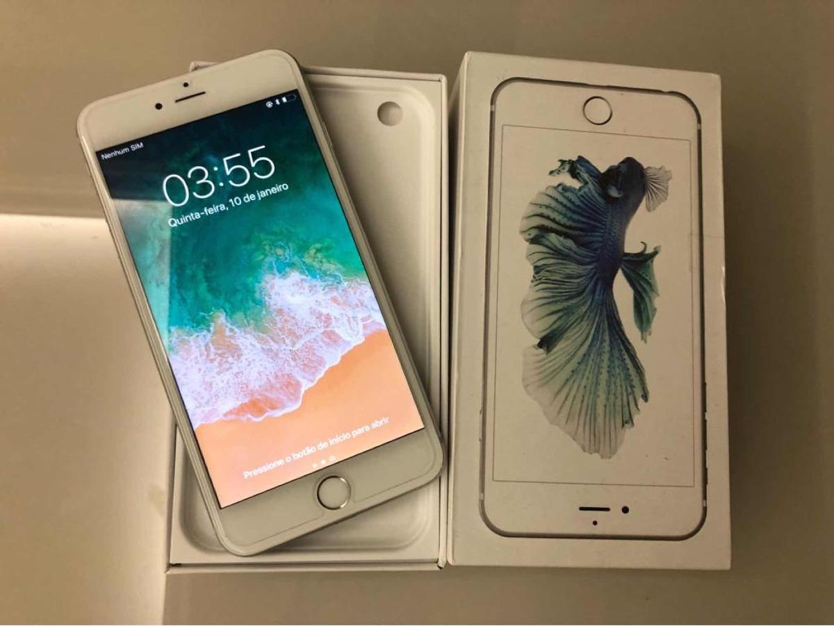 72d3df9e6 iphone 6s plus 64gb prateado semi-novo 100% original. Carregando zoom.