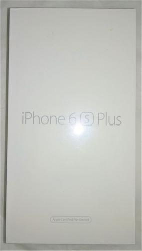 iphone 6s plus 64gb rfb lacrado de fabrica 1 ano de garantia