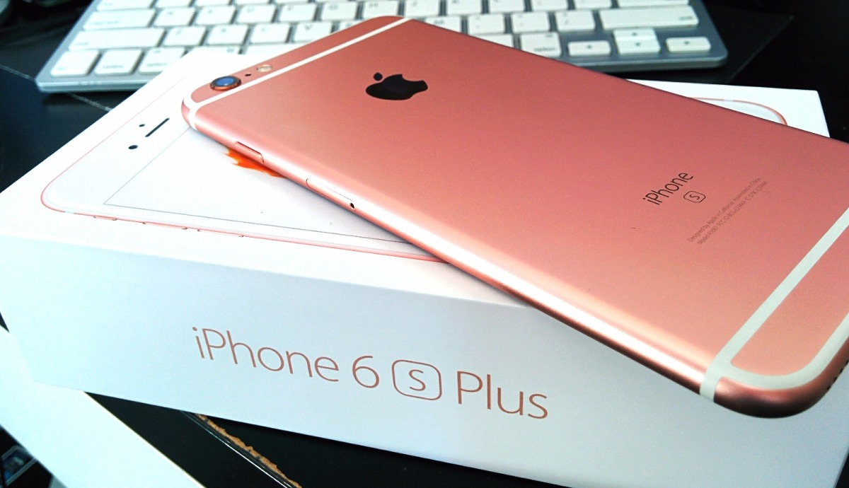 iphone 6s plus 64gb rose gold rosado s en mercado libre. Black Bedroom Furniture Sets. Home Design Ideas