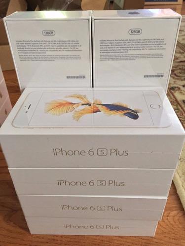 iphone 6s plus apple 64gb 4g 4k nuevo sellado + entrega inm.