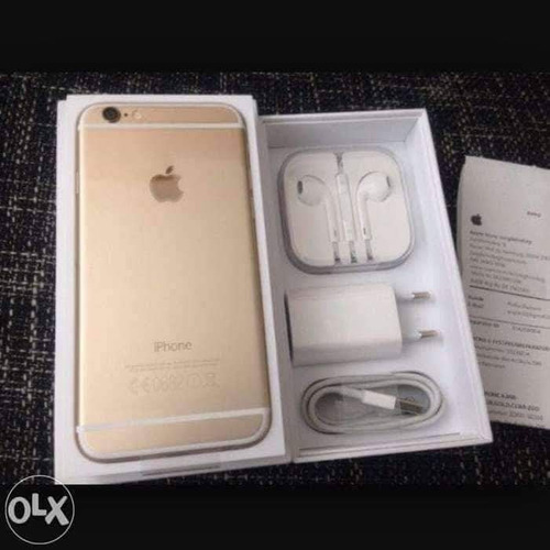 iphone 6s plus gold 64 gb en su caja