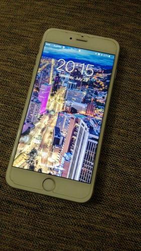 iphone 6s plus silver 32 gb - 7 meses de uso