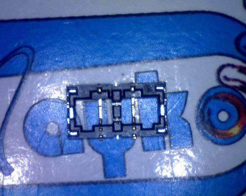 iphone 6s y se conector de batería tablilla tarjeta lógica