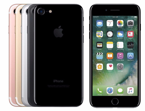 iphone 7 128gb 4.7' retina waterproof 12mp 4k new touch id