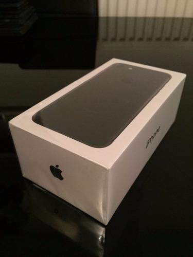 iphone 7 128gb color black nuevos de paquete
