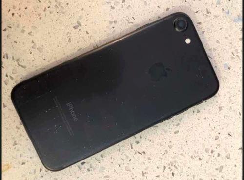 iphone 7 128gb negro detalle cámara 200