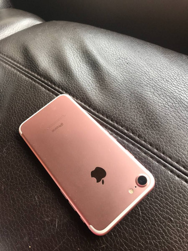 iphone 7 128gb rose gold para repuesto negociable