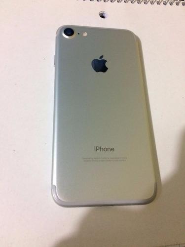 iphone 7 128gb silver como nuevo!