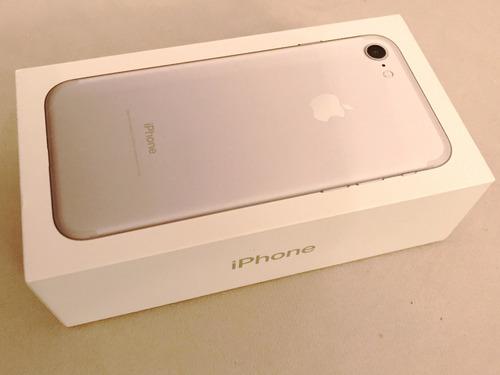 iphone 7 128gb, silver, libre para todas las compañias!!