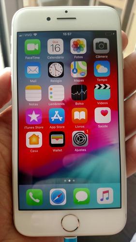 iphone 7 32 gb prata semi-novo sem detalhes 12 vezes s/juros