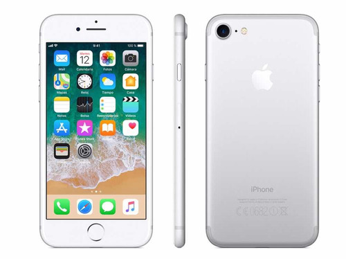 iphone 7 32gb (320) liberado de fábrica, black,