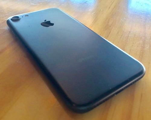 iphone 7 32gb con factura color negro mate libre de icloud