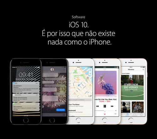 iphone 7 32gb - desbloqueado - novo e lacrado