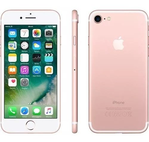 iphone 7 32gb ouro rosa vitrine anatel nacional