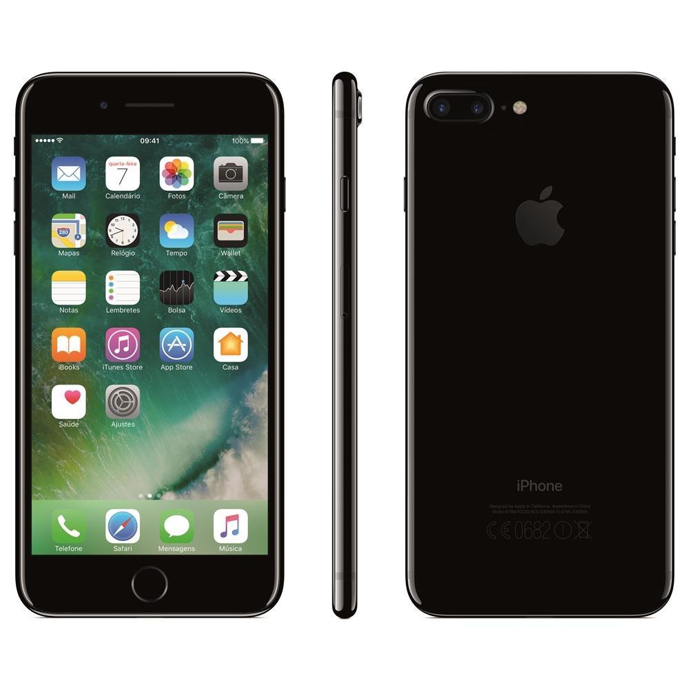 iphone 7 apple plus 128gb tela retina hd 5 5 ios 10 4g lte r em mercado livre. Black Bedroom Furniture Sets. Home Design Ideas