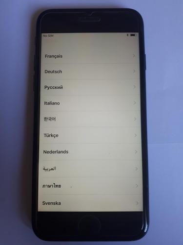 iphone 7 apple preto fosco 128gb desbloqueado usado