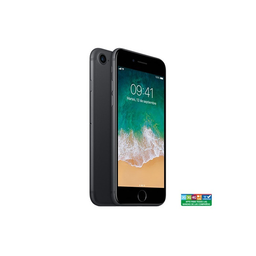 iphone 7 black 128gb + reifcare + privacy tempered glass