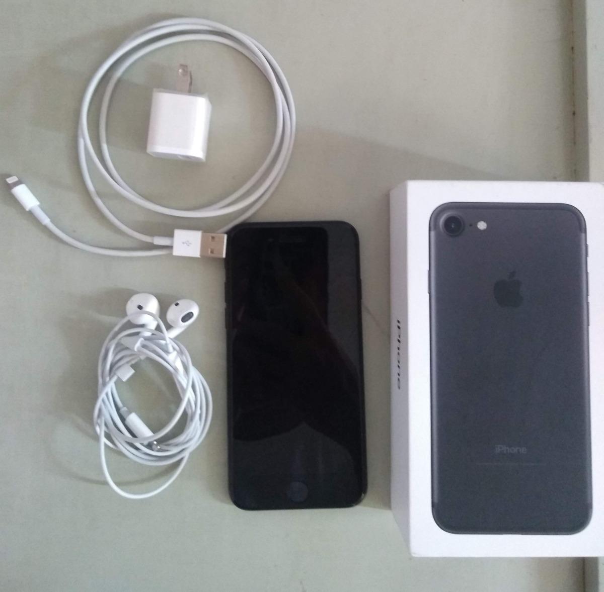 3834b30a429 iPhone 7 Black 32 Gb - $ 2.000.000 en Mercado Libre