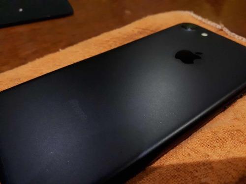 iphone 7 black (mate) de 32gb libre!!