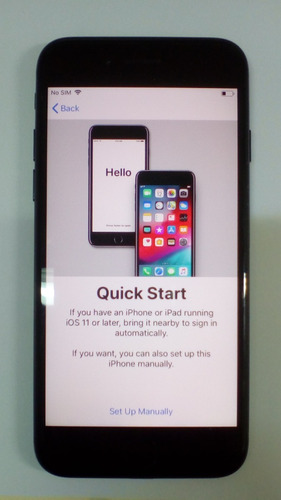 iphone 7 bloqueado por icloud (solo para repuesto)
