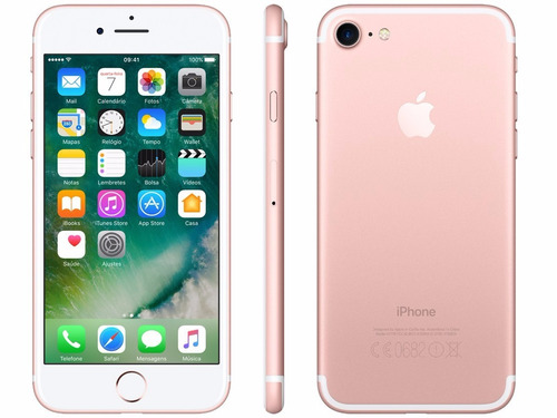 iphone 7 de 128 gb original apple 1 ano garantia lacrado