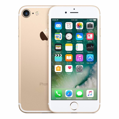iphone 7 de 128gb dorado camara de 12mpx frontal de 7mpx