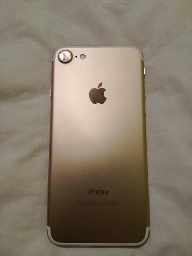 iphone 7 de 32gb + cargador 6 meses de garantía usado