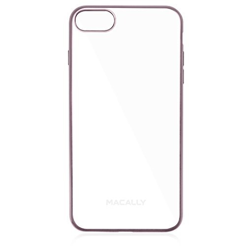 iphone 7 estuche blando, macally ultra delgado y flexible, t